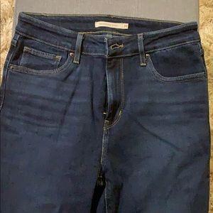 High Rise Skinny Levi's Jeans 29 Waist